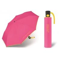 Automatyczna parasolka Benetton, różowo-żółta
