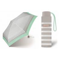 Kieszonkowa parasolka Esprit 17 cm, szara w PASKI