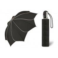Automatyczna parasolka damska KWIAT Pierre Cardin CZARNA
