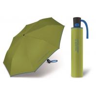 Automatyczna parasolka damska BENETTON, zielono-niebieska