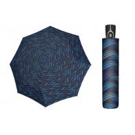 Wytrzymała AUTOMATYCZNA parasolka Doppler, NIEBIESKIE FALE