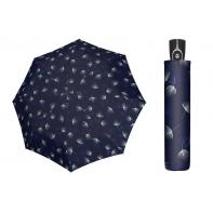 Mocna AUTOMATYCZNA damska parasolka Doppler, granatowa DMUCHAWCE