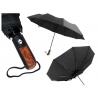 Automatyczny, składany WYTRZYMAŁY parasol męski XL 107 cm