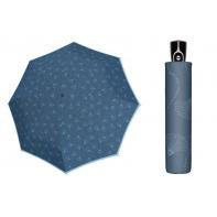 Wytrzymała AUTOMATYCZNA parasolka Doppler, NIEBIESKA DMUCHAWCE