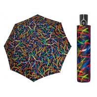 Mocna AUTOMATYCZNA damska parasolka Doppler, niebieska ekspresja