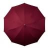 Bordowa parasolka z regulowanym paskiem na ramię