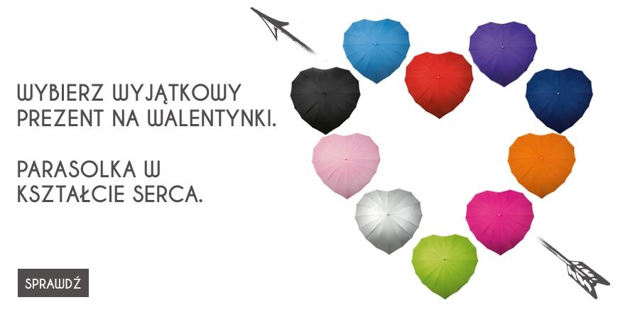 Parasolki w kształcie serca